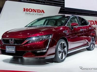 Mobil Honda Clarity Hidrogen Siap dipamerkan di Los Angeles