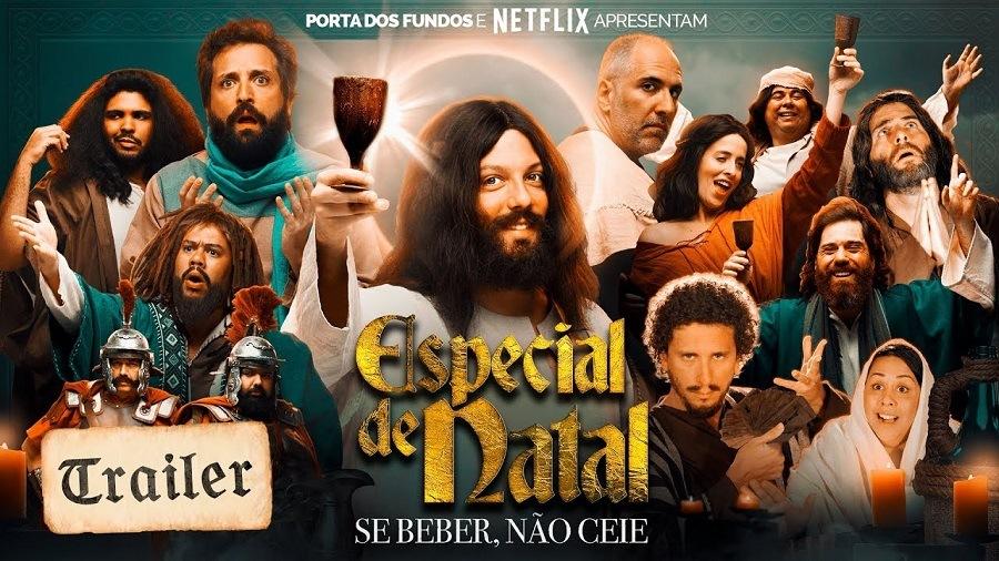Especial de Natal Porta dos Fundos - Se beber Não Ceie 2018 Filme 1080p 720p Full HD HD WEB-DL completo Torrent