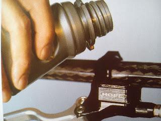 Cambiar líquido de freno a bicicleta