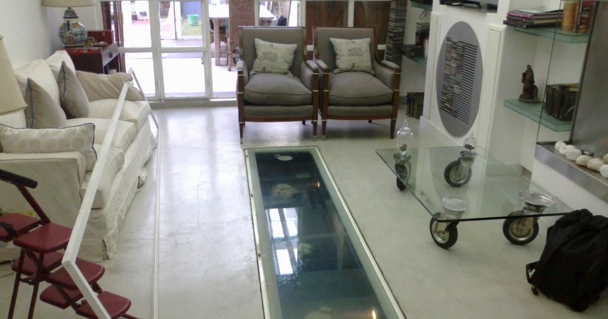 Acuarios decorpez pecera bajo el suelo for Fabricacion de estanques