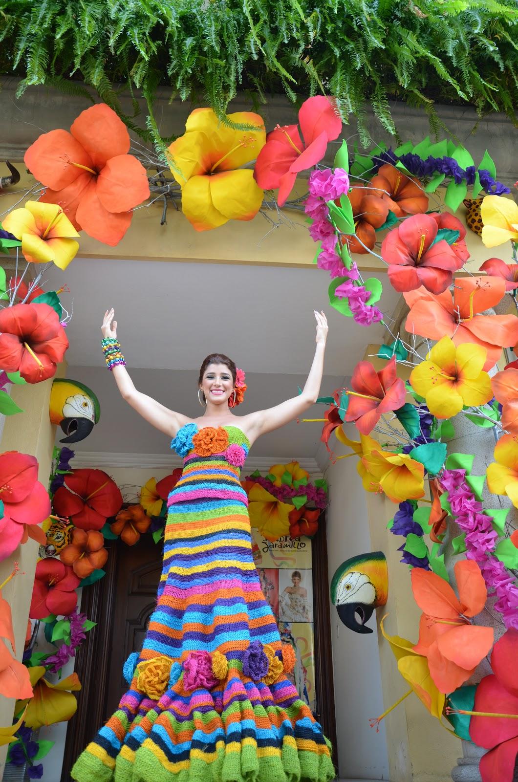 Carnaval del bicentenario 01 26 12 for Decoracion para carnaval