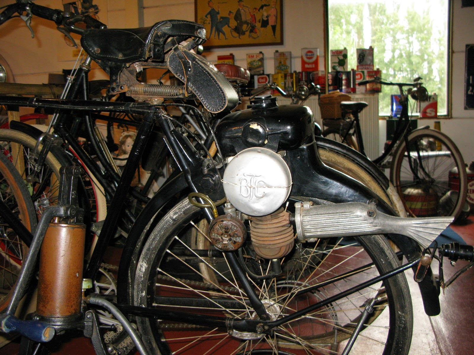 Danish BTC cyclemotor from 1951