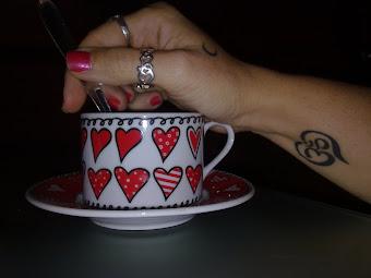 Un té de corazones