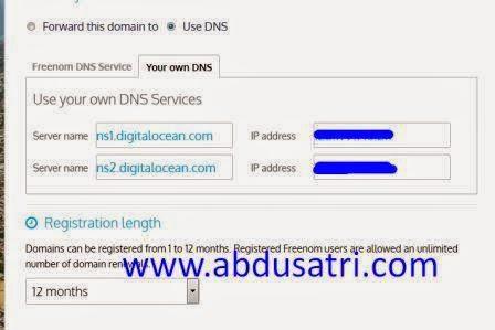 cara daftar domain gratis untuk blog