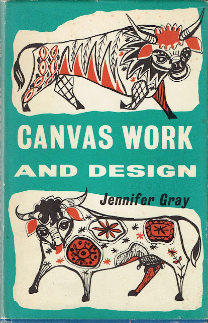 Front cover of Canvas Work by Jennifer Gray 1960