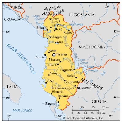 ALBÂNIA - ASPECTOS SOCIOCULTURAIS DA ALBÂNIA