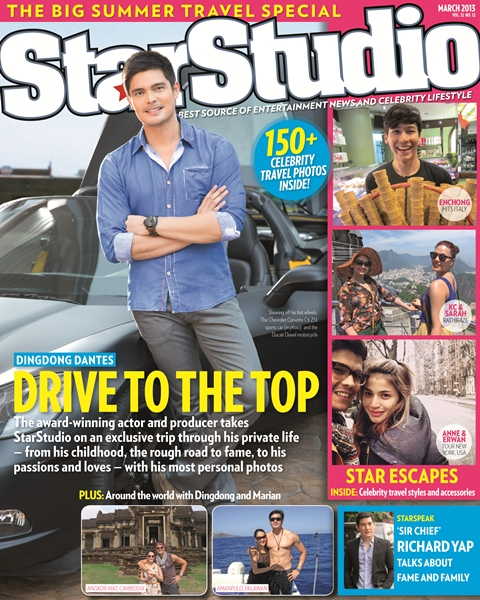 Dingdong Dantes Covers StarStudio March 2013 Issue