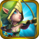 Castle Clash by IGG App iTunes App Icon Logo By IGG.COM - FreeApps.ws