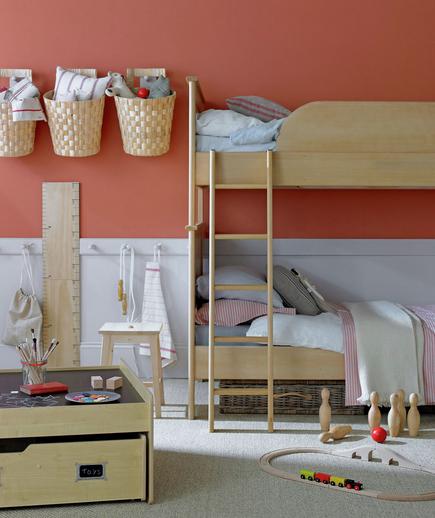 La casa da vivere dipingere la camera dei bambini - Dipingere camera bambini ...