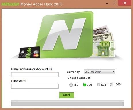 Neteller Money Adder Hack Tool 2015