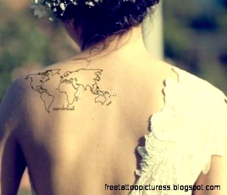25 Beautiful Travel Tattoo Ideas for GirlsFive Dollar Traveller