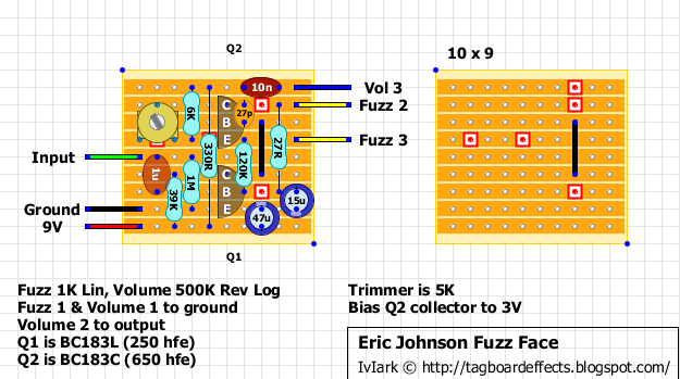 Guitar FX Layouts: Dunlop - Eric Johnson Signature Fuzz Face EJF1 on fuzz pedal schematic, wah schematic, univibe schematic, solar charge controller schematic, overdrive schematic, 3 pole double throw switch schematic, compressor schematic, tremolo schematic, muff fuzz schematic, simple fuzz box schematic, mutron iii schematic, tube screamer schematic, colorsound overdriver schematic, super fuzz schematic, harmonic percolator schematic, ts9 schematic, marshall schematic, simple tube amp schematic, tube driver schematic, distortion schematic,