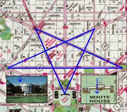 Masonic Layout Of Washington