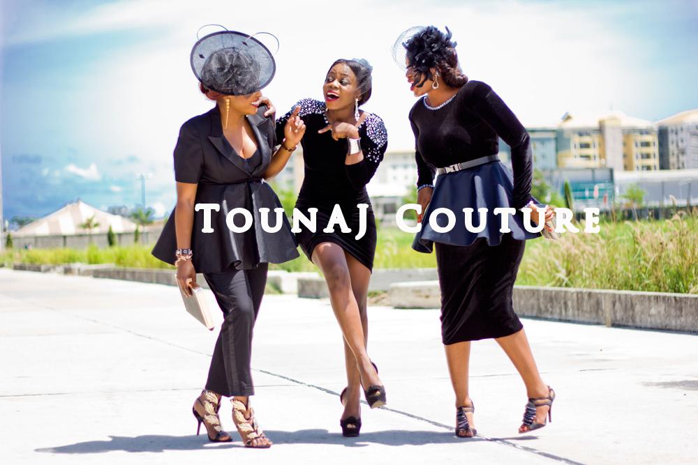 Toun 'AJ': Its all about Toun Aj couture...A ''Flare'' for ''Peplum''