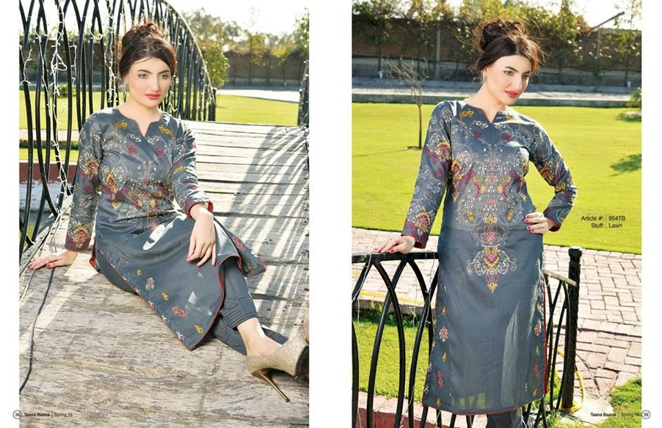 Designer Pakistani lawn collection