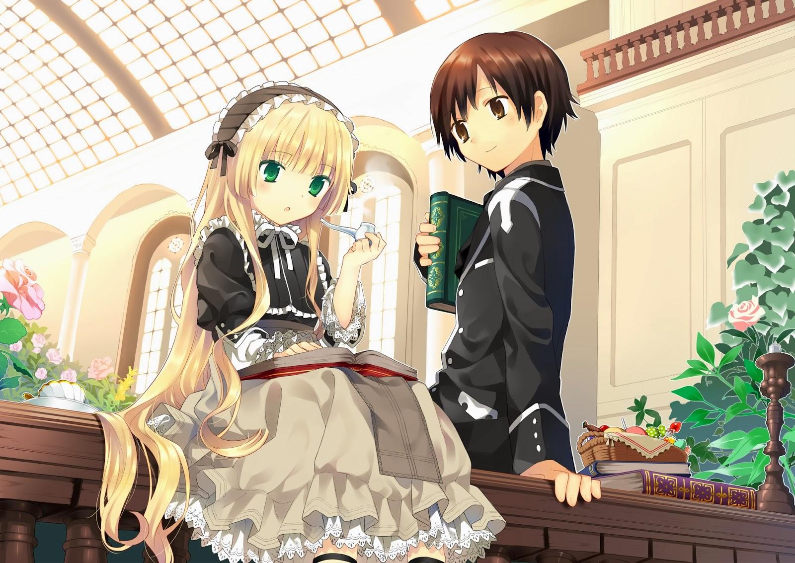 Bagi Yang Suka Anime Dengan Tema Romance Bumbu Mistery Saya Rasa GOSICK Merupakan Salah Satu Sangat Layak Kalian Tonton
