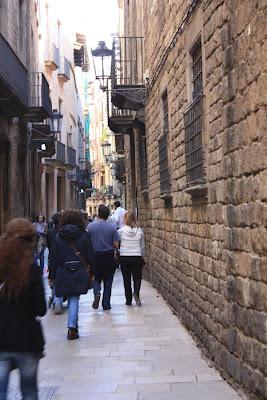 Carrer de Montcada in Barcelona