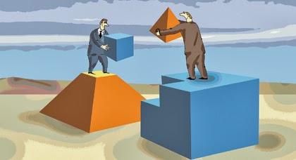 Конкуренция и сотрудничество очень тесно связаны: без одного нет другого!