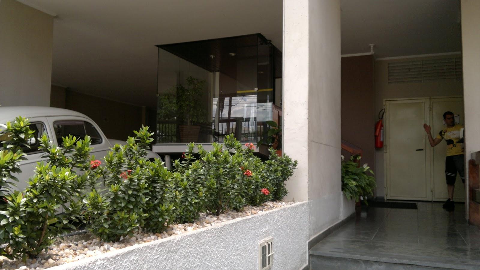 Edif cio aquidaban impermeabiliza o do piso no hall de - Entradas de pisos ...