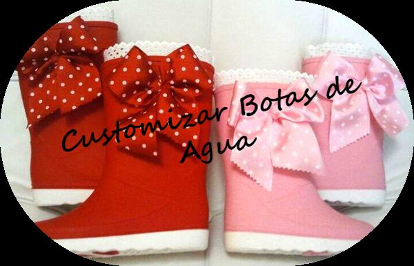 customizar botas de agua