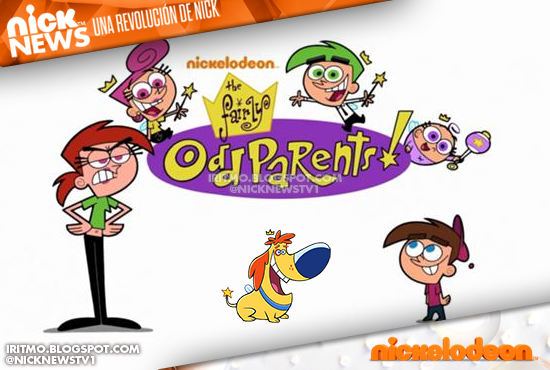 Fairly OddParents Nickelodeon Logo