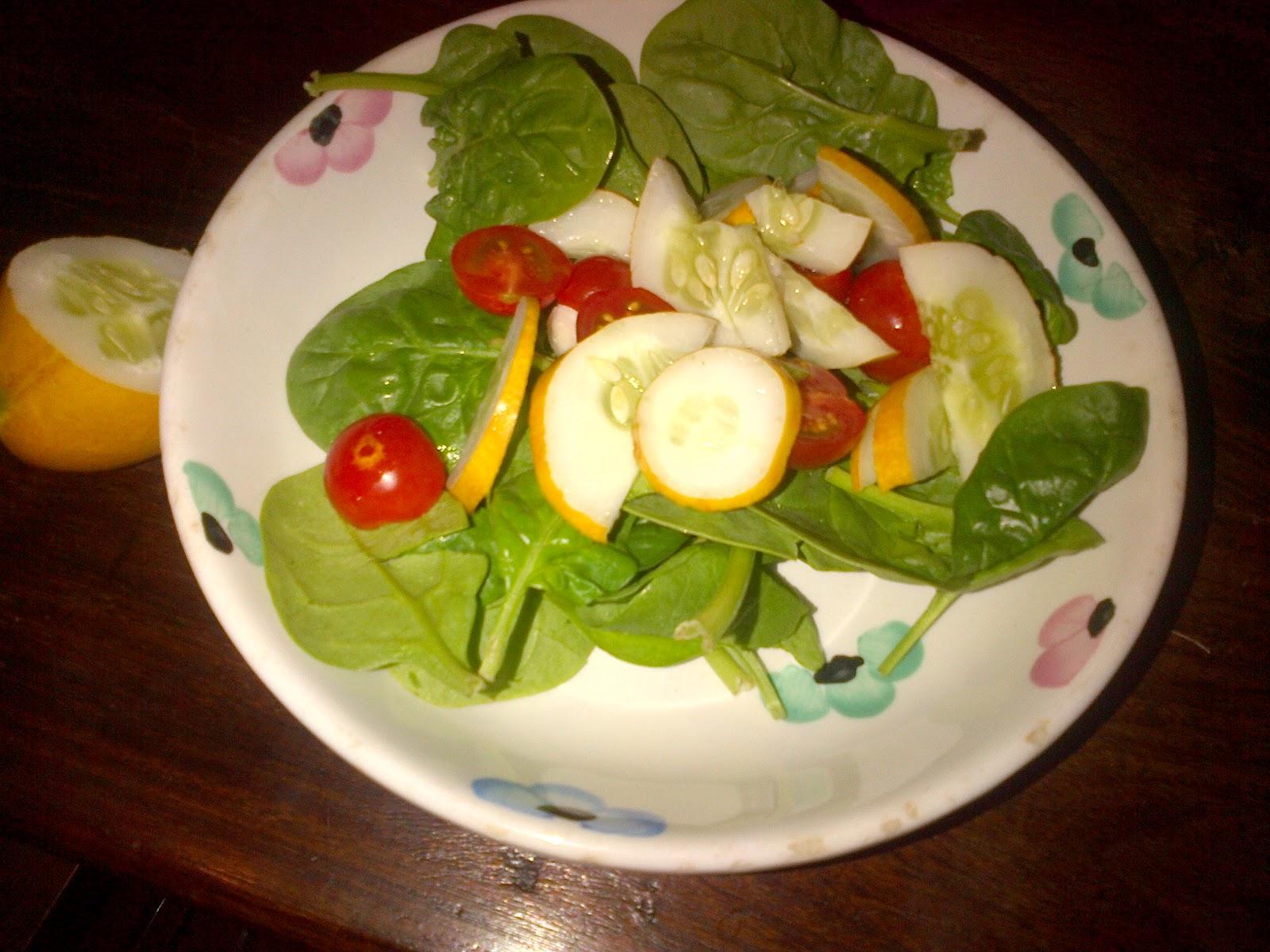vegan greenling: Local Box 5/31/12 - Indian Cucumber!