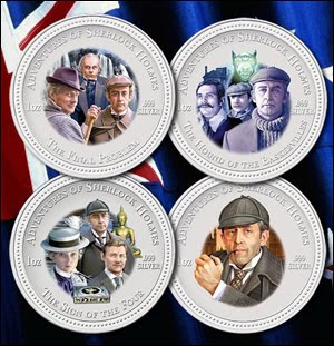 SHERLOCK HOLMES ÉS DOKTOR WATSON - Vasily Livanov NZ+coins