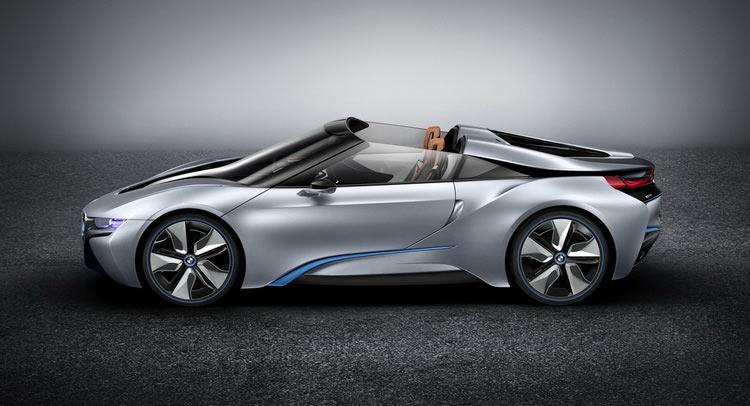 New BMW i8 Spyder Concept Heading To CES 2016
