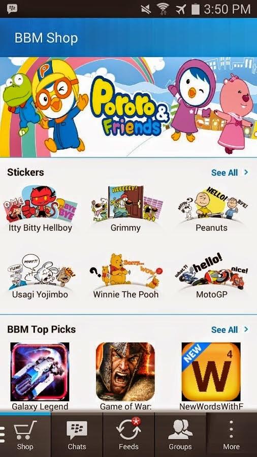 BBM Free Sticker Versi 2.8.0.21 APK