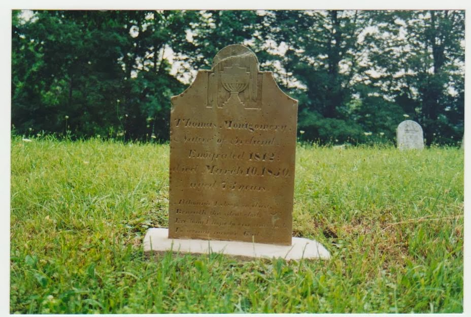 52 Ancestors: Thomas Montgomery Taken Prisoner War of 1812