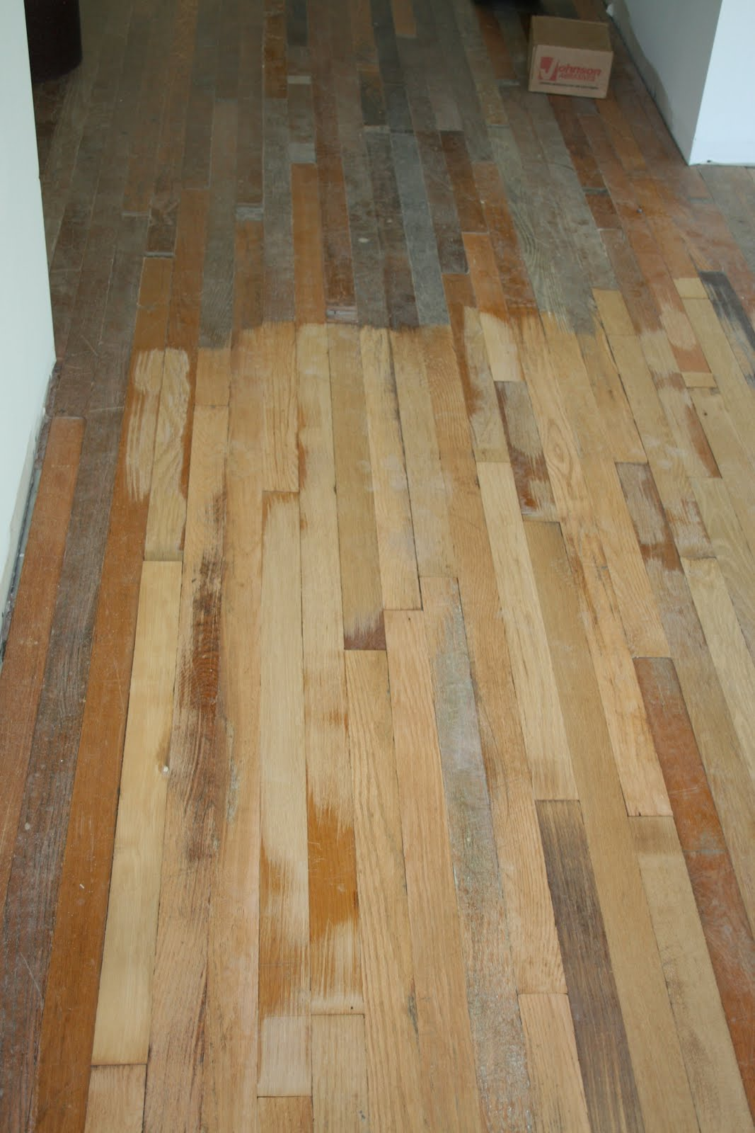 Just One Green House Reclaimed Wood Flooring
