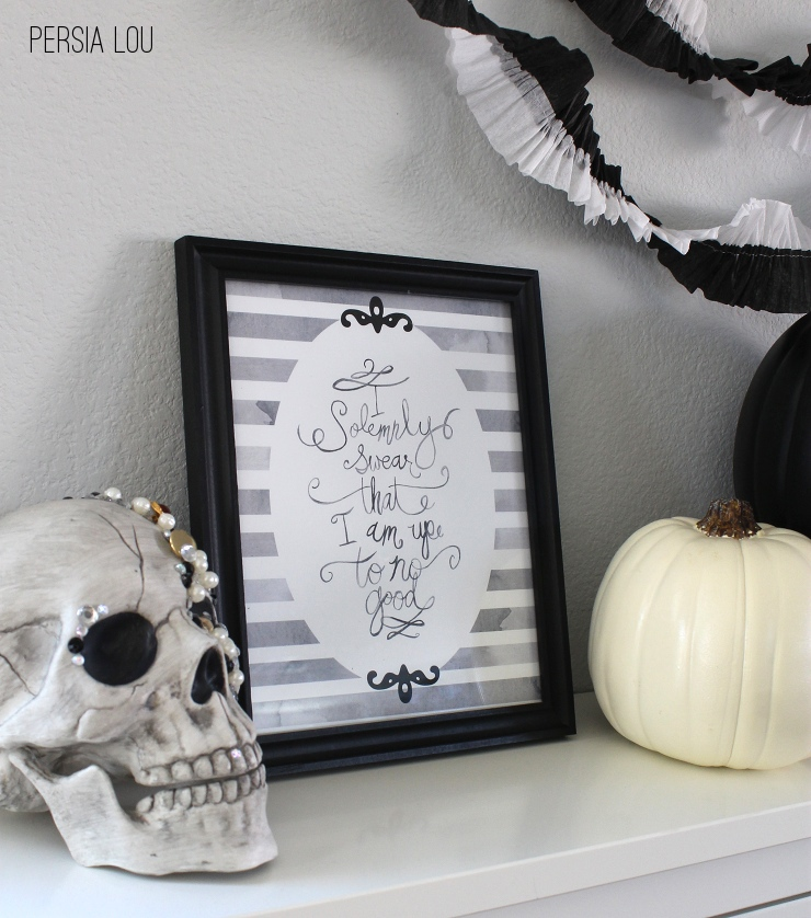 Harry Potter Halloween Printable {Persia Lou}