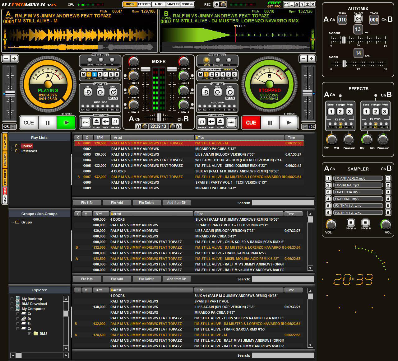 of software like dj pro mixer with dj pro mixer software is a novice