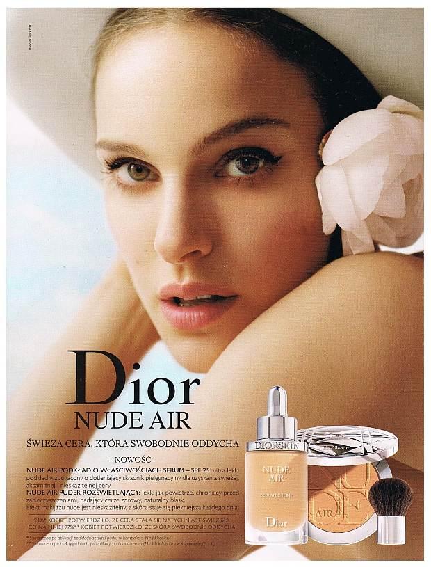 Polska reklama Dior Nude Air