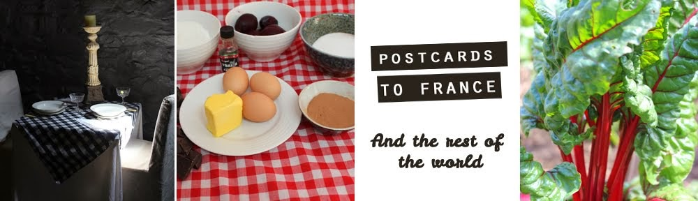 Postcards to France