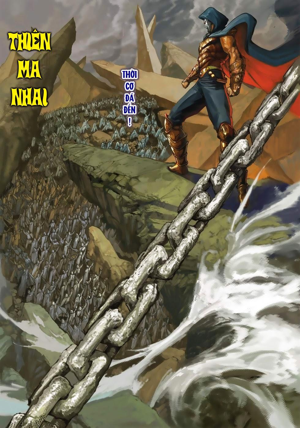 Thần Binh Tiền Truyện 4 - Huyền Thiên Tà Đế chap 3 - Trang 6