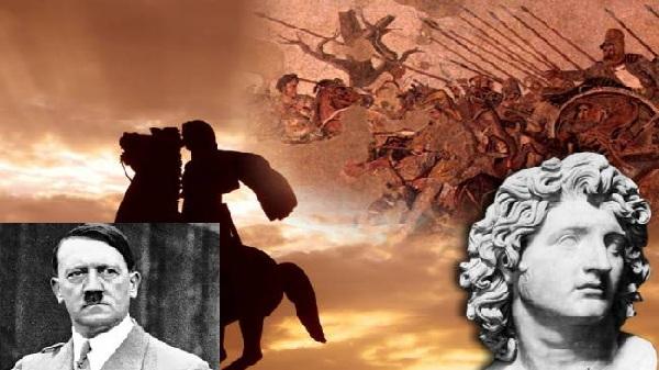 Και άλλος δοσίλογος αριστερός!  Ιράν η χωρα της άριας φυλής του μέγα Αλέξανδρου!   «Αγκάλιαζε» τον Χίτλερ !
