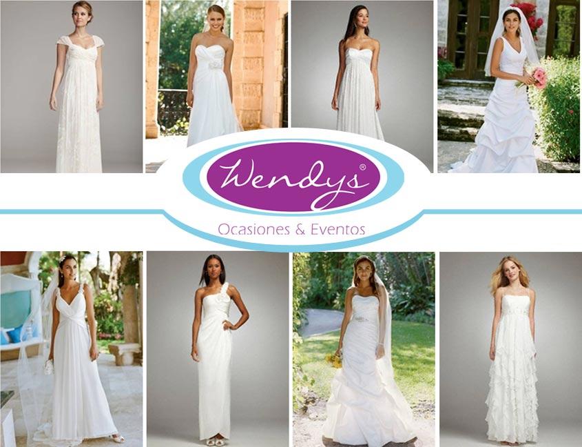 vestidos de novia: contacto