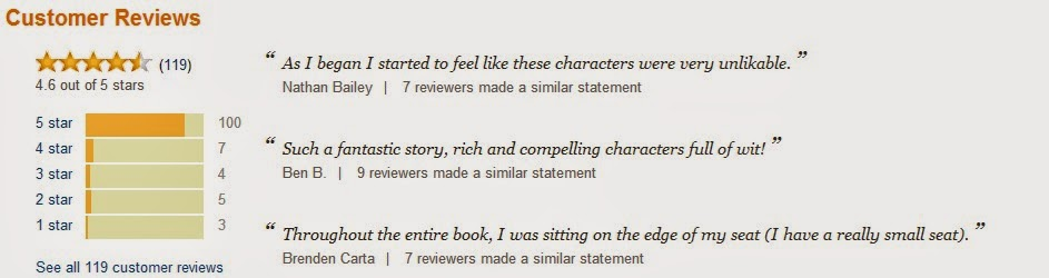 Are They Friends Of The Person Who Did This Book Ive Even Seen Comments On A Writing Forum Thinks It Was Done By One Big