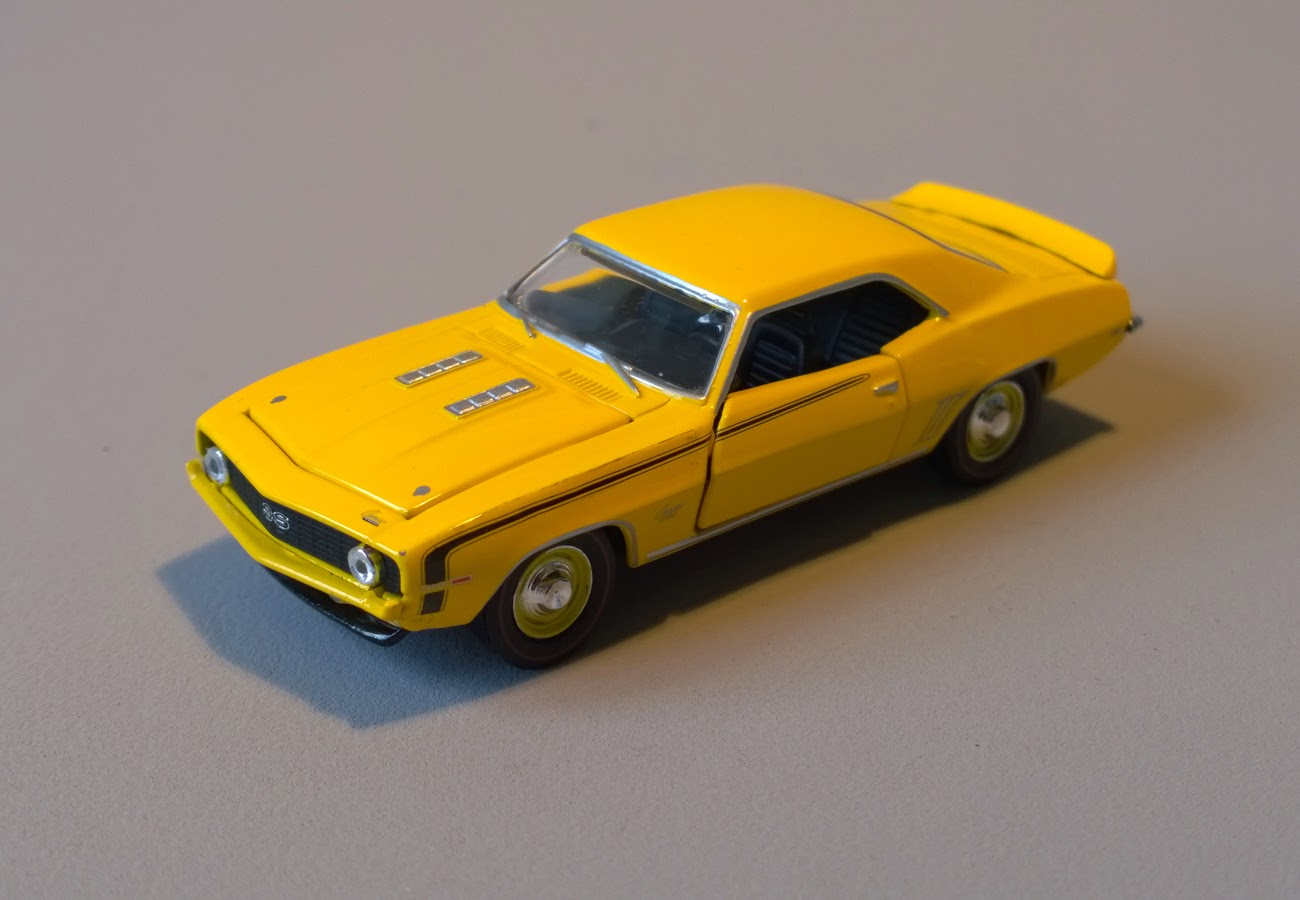 Sixty Four Ever Diecast 1969 Chevrolet Camaro Ss 396 L89 By M2 Machines 1976 Chevy Yellow