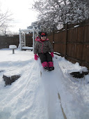 Pumpkin's Sliding/Sledding Hill (Mommy's Hard Work!)