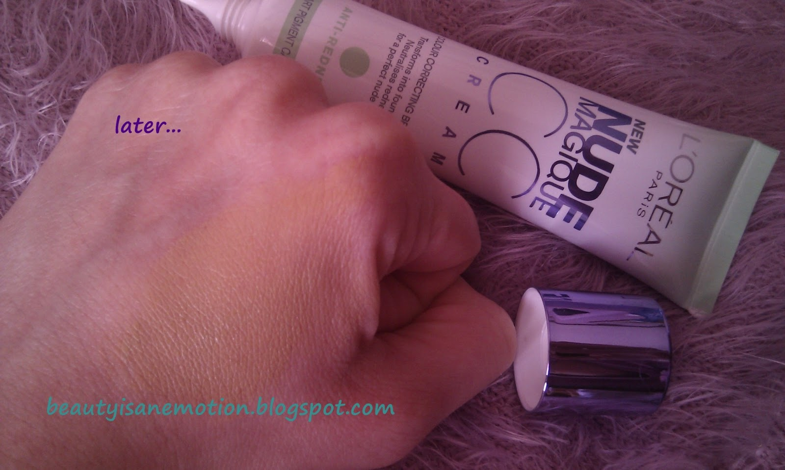 swatch L'oreal CC Cream anti-redness