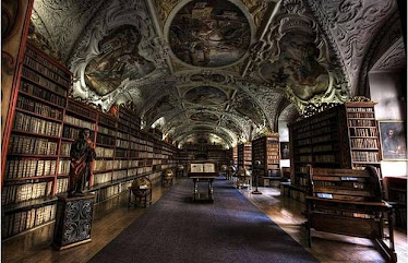 Perpustakaan di Prague