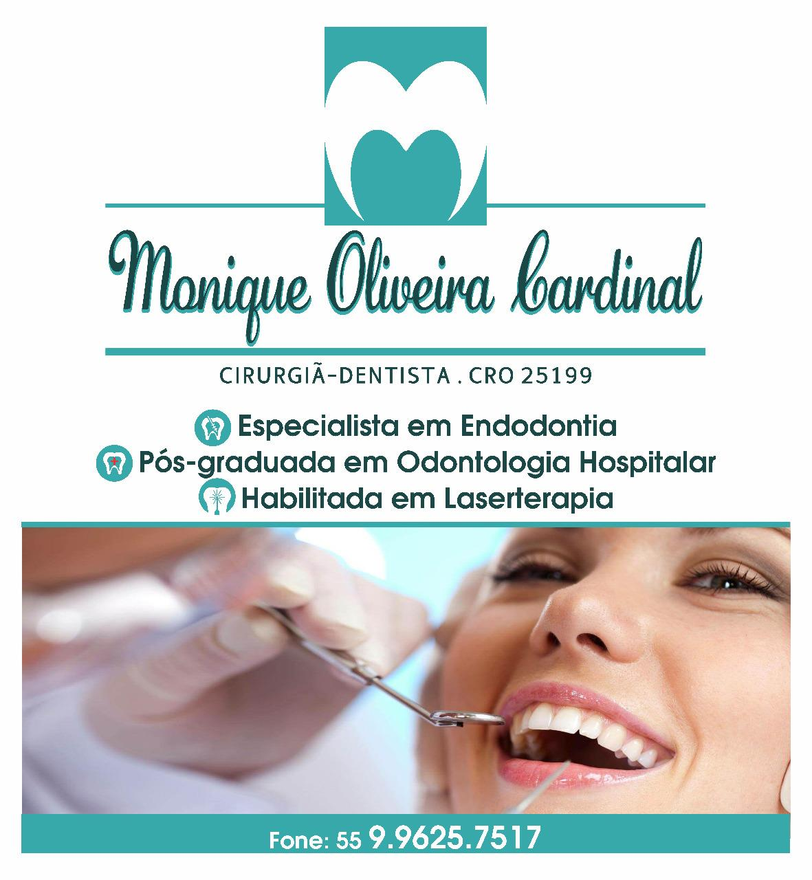 Monique Oliveira Cardinal Odontologia