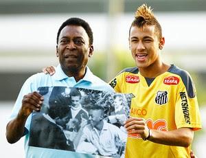 Pelé pode disputar o Mundial pelo Santos