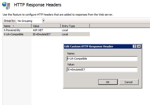 Añadir Cabecera HTTP