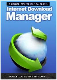 Capa Baixar Internet Download Manager 6.18 Build 1 + Ativação Baixaki Download