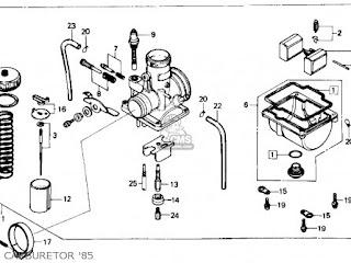 1985 Honda ATC250R service manual