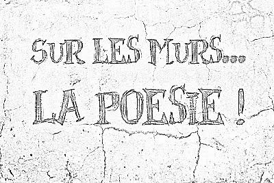 Sur les murs, la poésie 2016