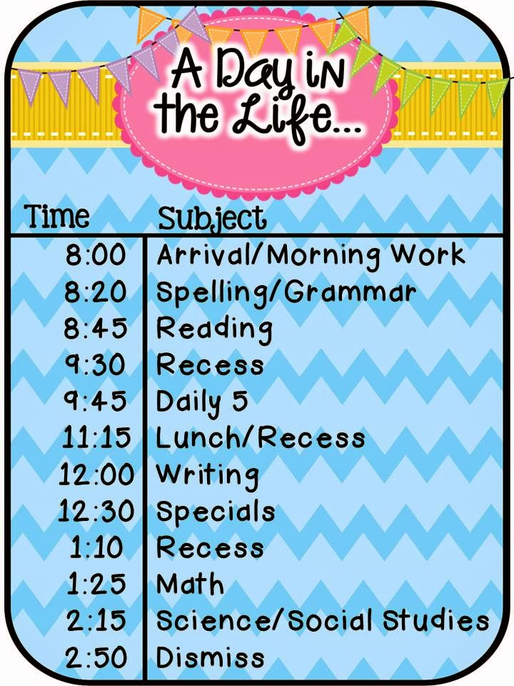 Teacher Gone Digital: A Day Our Way- A schedule linky and MLK Sale